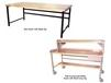HEAVY-DUTY WORK BENCHES - BASIC BENCHES WITH MAPLE TOP